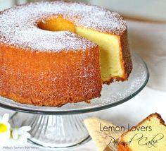 The Best Recipe Lemon Lovers Pound Cake Lemon Desserts, Lemon Recipes, Frozen Desserts, Just Desserts, Delicious Desserts, Dessert Recipes, Holiday Desserts, Cupcake Recipes, Pie Recipes