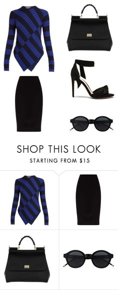 """""""Simple Set #2"""" by peacock-style ❤ liked on Polyvore featuring Altuzarra, Dolce&Gabbana and Alexandre Birman"""
