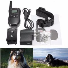 Waterproof Shock Remote Control Dog Training Collar. Visit Today For Huge Discount! While Stocks Last! #BigStarTrading.