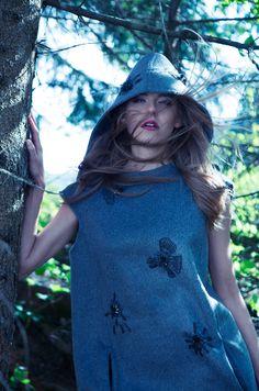 Dark Woodland for Liike Magazine. Styling by Allegra Ghiloni. Photography by Diego Ricci.