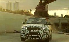 Finally, Range Rover Confirms Evoque Convertible at Geneva