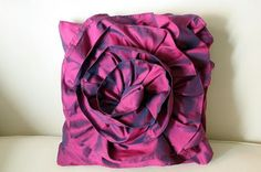 recycled bridesmaid dress      Bromeliad: DIY Wednesday: Make a ruffled rose pillow - Fashion and home decor DIY and inspiration