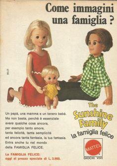 X9282-The-Sunshine-Family-Come-la-immagini-Pubblicita-1976-Advertising