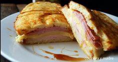 Cómo preparar un Sándwich Montecristo Ideas Sándwich, Ideas Para, Sandwiches, French Toast, Appetizers, Snacks, Breakfast, Food, Scrappy Quilts
