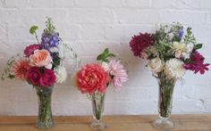 Different vase heights