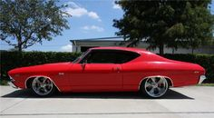 1969 CHEVROLET CHEVELLE CUSTOM 2 DOOR COUPE - 94072