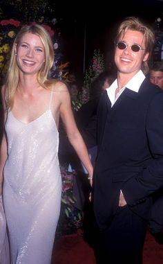 These Hollywood darlings met in 1995 on the set of Seven and although they walked the 1996 Oscars red carpet hand-in-hand, his asking for her hand in marriage never turned into wedded bliss.