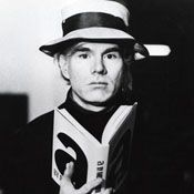 Andy Warhol - August 6, 1928 – February 22, 1987