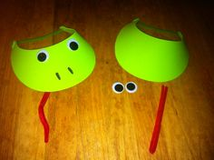 Frog costumes for interactive reading!
