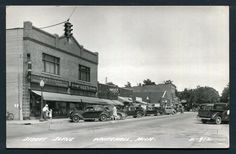 Whitehall Michigan Gee's 5 10 Drugs Ford Carr L L Cook Real Photo c1930s 1RE32 | eBay