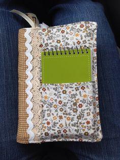 Cover for either book, Bible, or Journal.  adaisygarden.com