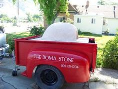 Pizza Trailer. The Roma Stone Wood Fired Pizza.