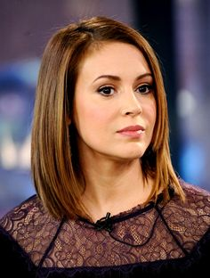 Alyssa Milano Hair 2015 - wallpaper.