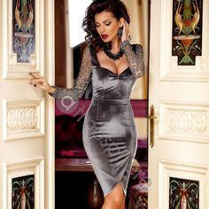 #newdress #beautifulclothes #fashionaddict #wearatmosphere #dressoftheday #shoponline 🆕👗💜 www.atmospherefashion.ro Tight Dresses, Sexy Dresses, Cute Dresses, Evening Dresses, Short Dresses, Fashion Dresses, Curvy Outfits, Sexy Outfits, Dress Outfits
