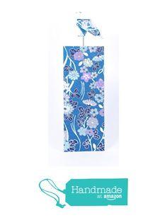 Marque-page oiseau origami en papier artisanal japonais (washi) bleu et argenté à partir des LePaslaid https://www.amazon.fr/dp/B06ZXXVBVW/ref=hnd_sw_r_pi_dp_Z419ybYK0VVN2 #handmadeatamazon
