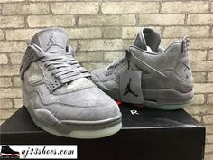 "6296a975c ATHENTIC KAWS X Air Jordan 4 ""Cool Grey"" from aj23shoes.com Kik skype   aj23shoes Wechat snapchat  aj23shoes1 YouTube  aj23shoes ..."