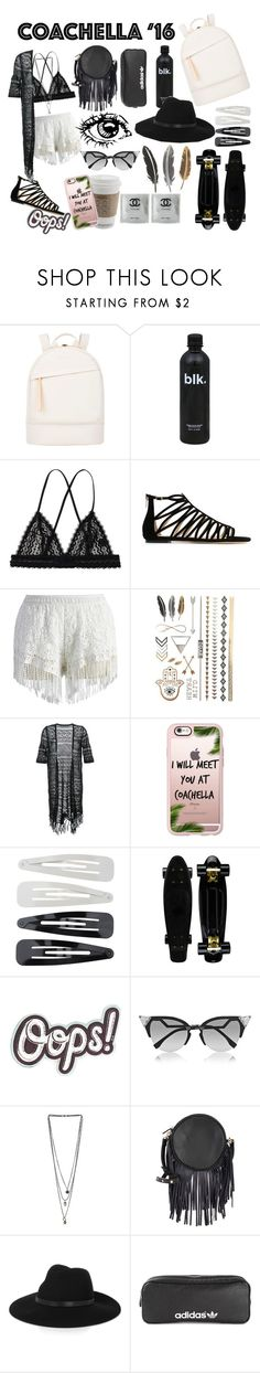"""Coachella is here get your grove on"" by angelicahoran426 ❤ liked on Polyvore featuring Want Les Essentiels de la Vie, Monki, Jimmy Choo, Chicwish, Guild Prime, Casetify, Forever 21, Anya Hindmarch, Fendi and Miss Selfridge"