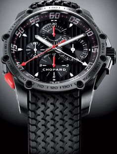 The Chopard classic racing superfast watch. Tag Heuer wannabe?      http://mywat.ch/superfast