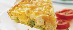 Impossibly Easy Vegetable Pie recipe from Betty Crocker