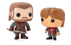 Everyone loves Game of Thrones. And now we have little vinyl figures bring some of our favorite characters right into our hands. And they are so cute! Get them all and let the battle spread to your desk!