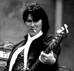 Ms. Kim Deal. The coolest babe in music.