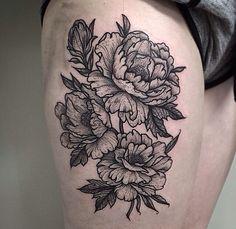 Thomas Bates peony flowers