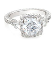 vera wang collection @ zales.     The ring is much the style these days. This one just has a larger center.