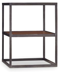 Chadwick living room tables are constructed of Acacia veneers and metal.