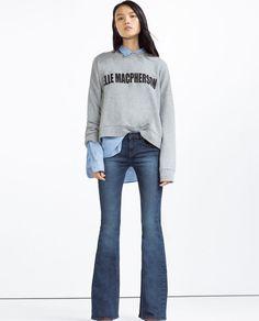 Elle McPherson sweatshirt Mujer-COLECCIÓN SS16 | ZARA España