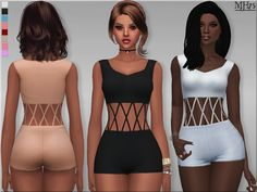 Sims Addictions: S4 Hollow Romper