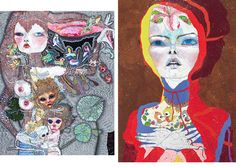 Del Kathryn Barton, Folk, Artist, Painting, Fictional Characters, Inspiration, Biblical Inspiration, Artists, Painting Art
