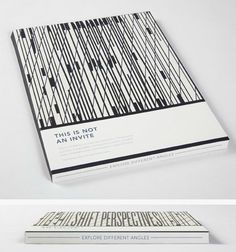 Awesome portfolio cover. Dibs