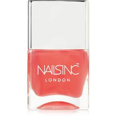 Nails inc Base Coat with Kensington Caviar (72 ILS) ❤ liked on Polyvore featuring beauty products, nail care, nail polish, nails, nails inc nail polish and nails inc.