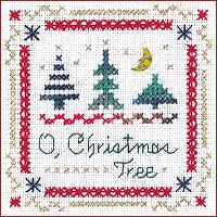Christmas cross stitch borders | ... also known as the double cross stitch or railway stitch it is