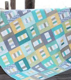 Board walk quilt PDF available   Cluck Cluck Sew  Love the color combo