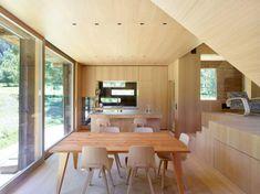 Cabana moderna intr-un hambar din sec XIX renovat