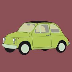 Retro Fiat Poster