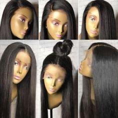 Hordozható mini kerámia hajcsavaró egyenesítő lapos vas perforált turmalin Full Lace Front Wigs, Straight Lace Front Wigs, Front Lace, Remy Hair Wigs, Remy Human Hair, Blonde Bob Weave, Wig Hairstyles, Straight Hairstyles, Modern Hairstyles