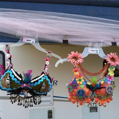 Decorated bras