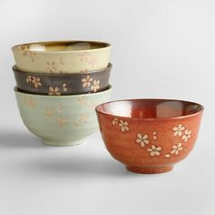 Capture the spirit of sleek and simple Asian design with our Zen-inspired bowls…