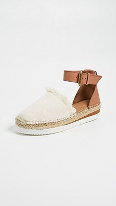 d7e4cfea0da online shopping for See Chloe Glyn Flat Espadrilles from top store. See new  offer for See Chloe Glyn Flat Espadrilles