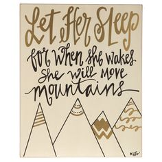 She Will Move Mountains MDF Wall Decor                                                                                                                                                                                 More