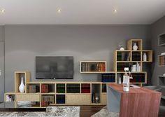 Escritorio Vega - Decoração de escritório inserido em moradia com 400 m2 situada em Luanda. De destacar o mobiliário personalizado, estantes em OSB e secretaria em madeira de Takula especialmente desenvolvidos para esta moradia, com execução da Carpintaria Laureano. Nesta decoração a combinação de texturas e padrões é preponderante por forma a conferir nobreza ao espaço. Veja mais em www.baobart.pt #decor #baobart #design #arquitetura #atelier #decoracao