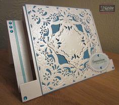Stepper Card - Crafters Companion Create a Card Die - Devore