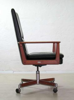 Office chair by Arne Vodder, 1960s.