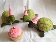 Felt Turtles and Cupcakes