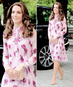 """flawlesscatherine: """" Catherine, Duchess of Cambridge attends the World Mental Health Day celebration with Heads Together at the London Eye. 