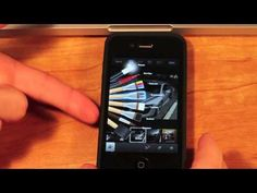 iPhoto for iPhone video Tutorial.