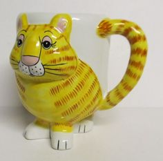 Gary Patterson Cat Tabby Coffee Mug | eBay