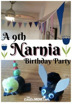 All the details of Sunshine's 9th Narnia birthday party, including how to make invitations, party decor ideas, food, and activities to keep guests busy!